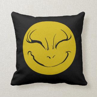 Evil Sweet Smiely Face Cushion