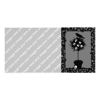 Evil Topiary Coordinates Card