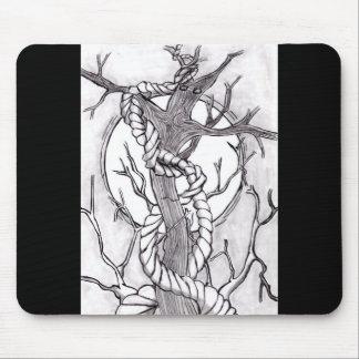 evil tree mouse pad