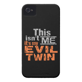 Evil Twin iPhone 4 case-mate