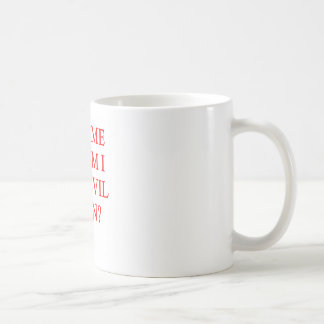 evil twin joke coffee mug