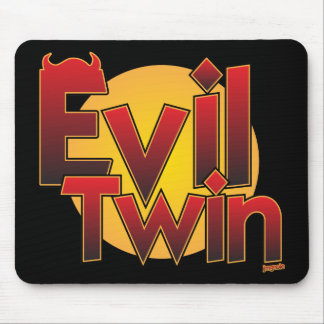Evil Twin Mouse Pad