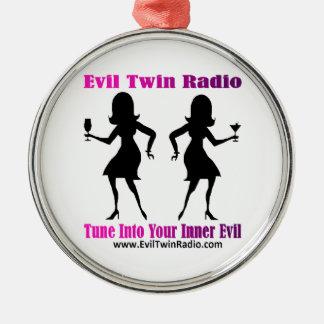 Evil Twin Radio Fan Gear Christmas Ornaments