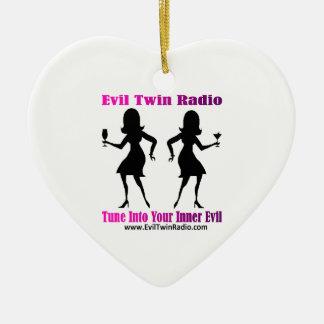 Evil Twin Radio Fan Gear Christmas Tree Ornaments