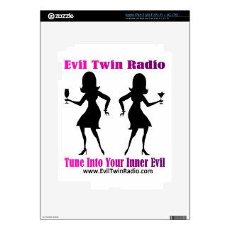 Evil Twin Radio Fan Gear iPad 3 Decal