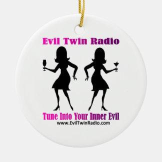 Evil Twin Radio Fan Gear Ornaments