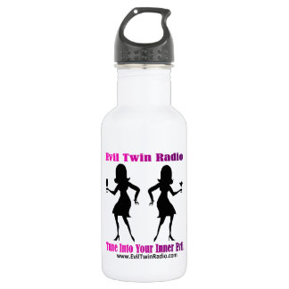 Evil Twin Radio Fan Gear Water Bottle