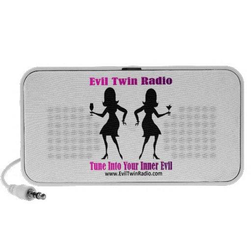 Evil Twin Radio Speakers
