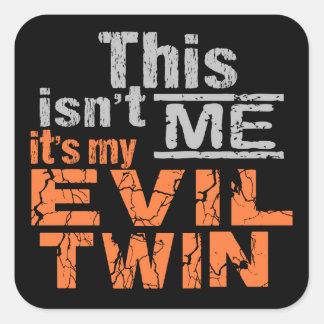 Evil Twin stickers