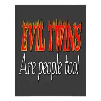 Evil Twins are people too! Invitations