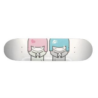 evil twins skate board deck