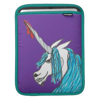 evil unicorn iPad sleeve