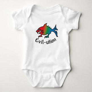 evil-ution baby bodysuit