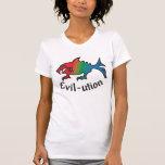 evil-ution t shirts
