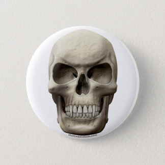 Evil Vampiric Skull Button