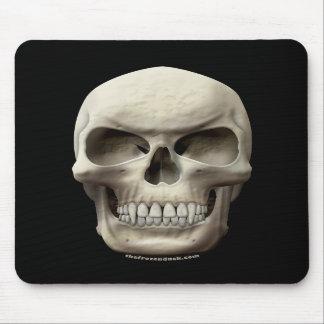 Evil Vampiric Skull Mouse Pads
