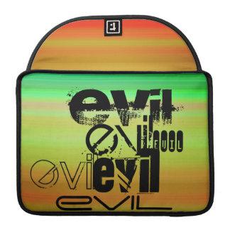 Evil; Vibrant Green, Orange, & Yellow Sleeve For MacBook Pro
