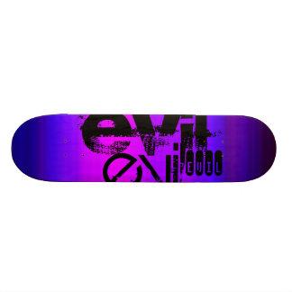 Evil; Vibrant Violet Blue and Magenta Skateboard