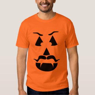 Evil Villain Vampire Pumpkin T-Shirt