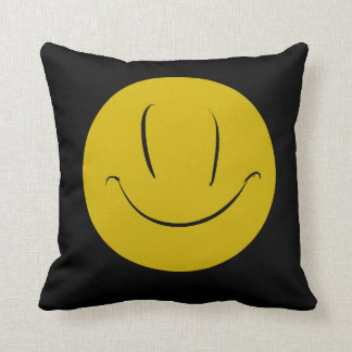 Evil What the Hell Smile Face Cushion