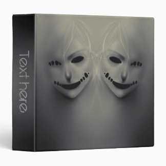 """Evil whispers 1""""5 vinyl binder"""