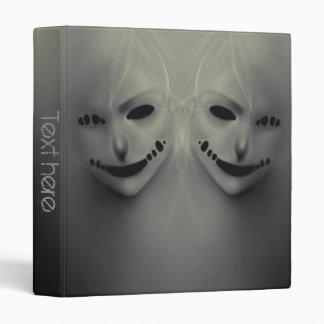 """Evil whispers 1"""" vinyl binder"""