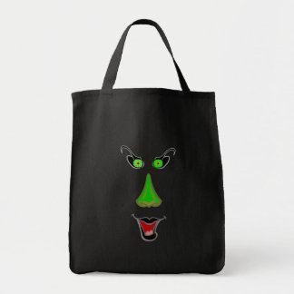 Evil Wicked Witch - Halloween Trick or Treat Bag