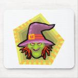 Evil Wicked Witch Mousepads