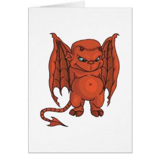 evil winged devil cards