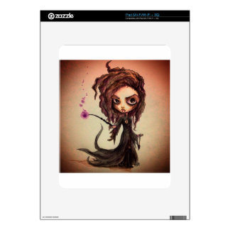 Evil Witchy Wizards Decals For iPad