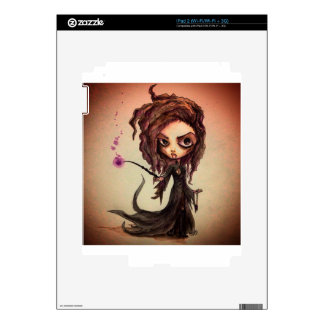 Evil Witchy Wizards Decals For The iPad 2