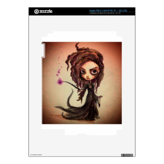 Evil Witchy Wizards iPad 3 Decals