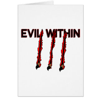 Evil Within Card