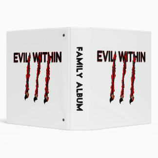 Evil Within Claw Marks Binder