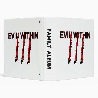 Evil Within Claw Marks Vinyl Binder