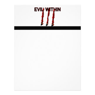 Evil Within Claw Marks Letterhead
