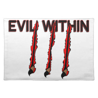 Evil Within Claw Marks Place Mats