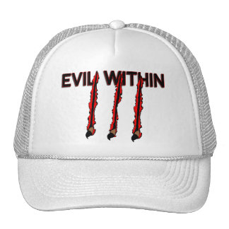 Evil Within Claw Marks Trucker Hat