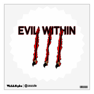 Evil Within Claw Marks Wall Decal