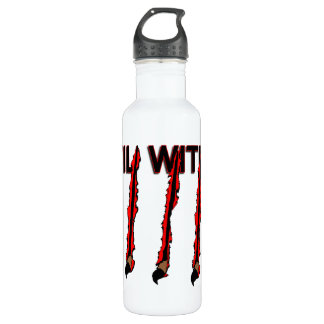 Evil Within Claw Marks Water Bottle