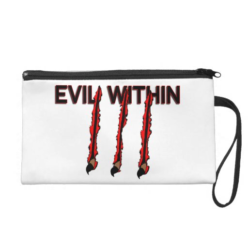 Evil Within Claw Marks Wristlet Purses