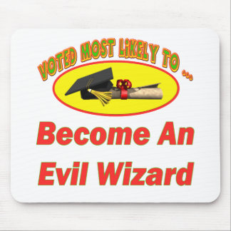 Evil Wizard Mouse Pad
