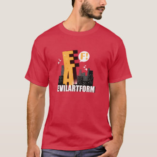 Evilartform Eafzilla T-Shirt