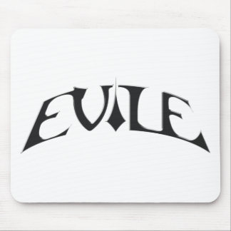 Evile INFECTED NATIONS logo mousemat Mouse Pad
