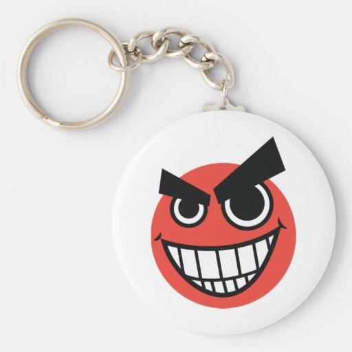 evilface key chains