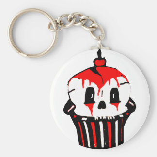 evilicious gothic cupcake keychain