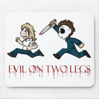 evilontwolegs.com logo mousepad