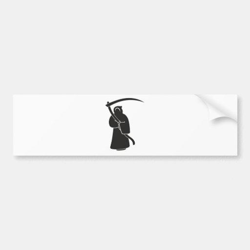 Evilution Reaper Bumper Sticker