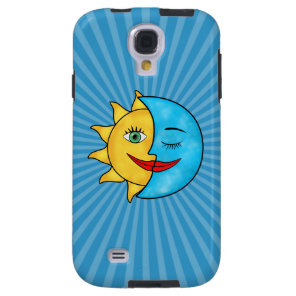 EviSun Moon Celestial theme Galaxy S4 Case