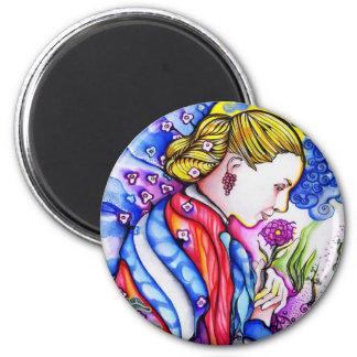 Evita Button 2 Inch Round Magnet
